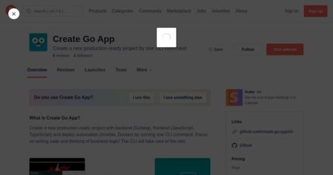 Create Go App