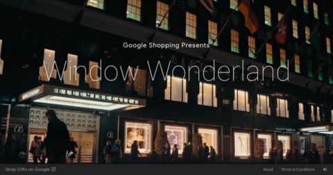 Window Wonderland by Google