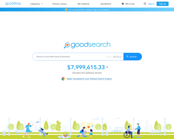 http://www.goodsearch.com