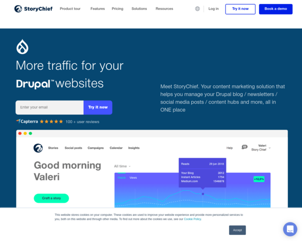 https://storychief.io/drupal-content-marketing