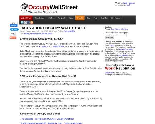 http://occupywallst.org