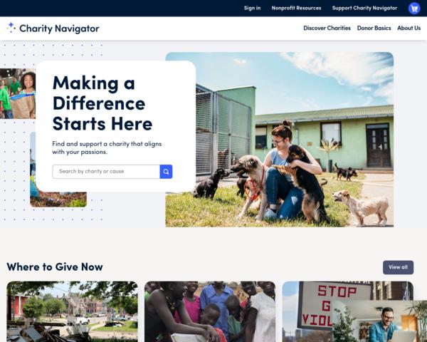 http://www.charitynavigator.org
