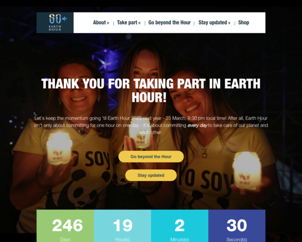 http://www.earthhour.org