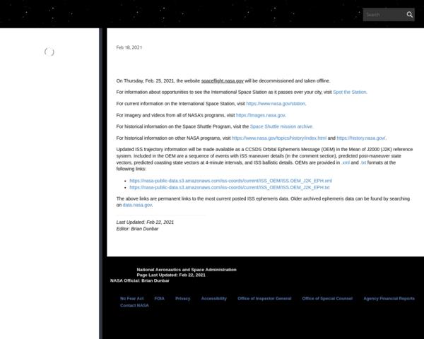 http://spaceflight.nasa.gov