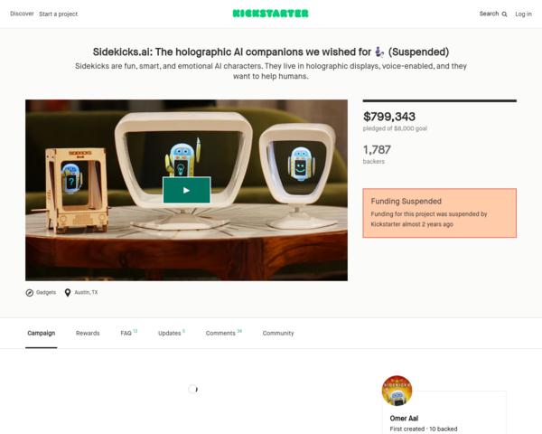 https://www.kickstarter.com/projects/crazies/sidekicksai