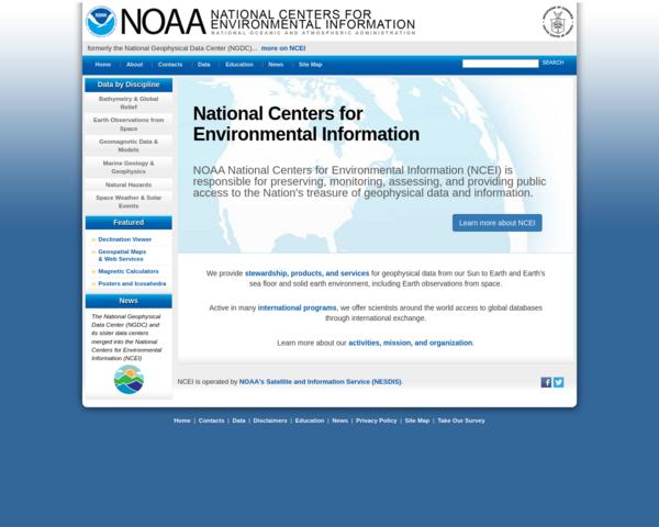 http://www.ngdc.noaa.gov