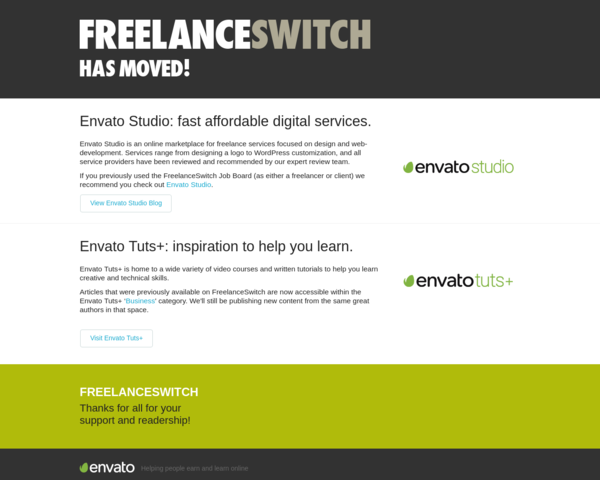 http://freelanceswitch.com