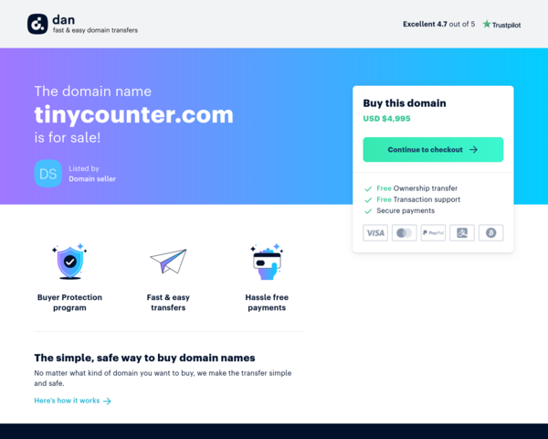 http://www.tinycounter.com