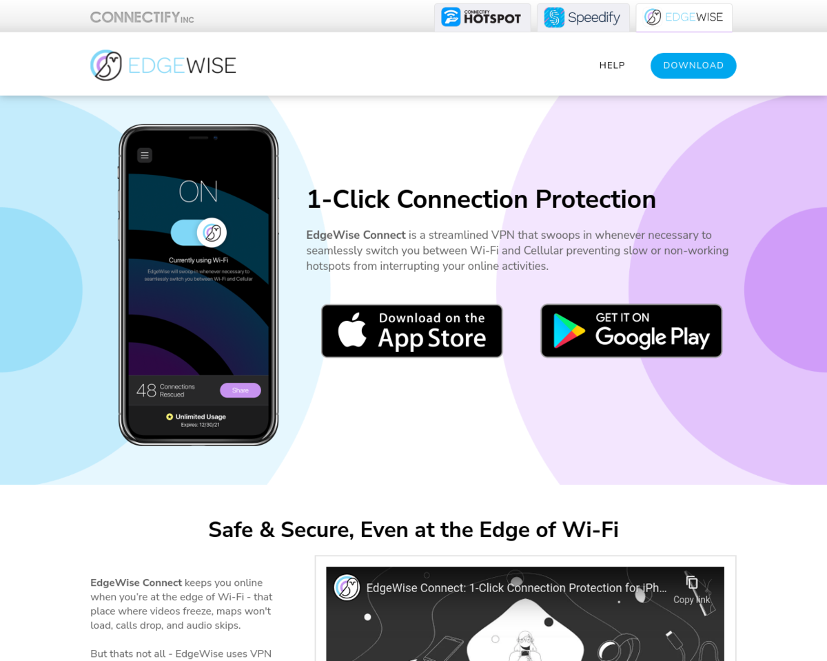 EdgeWise Connect: Stay connected, even at the edge of Wi-Fi