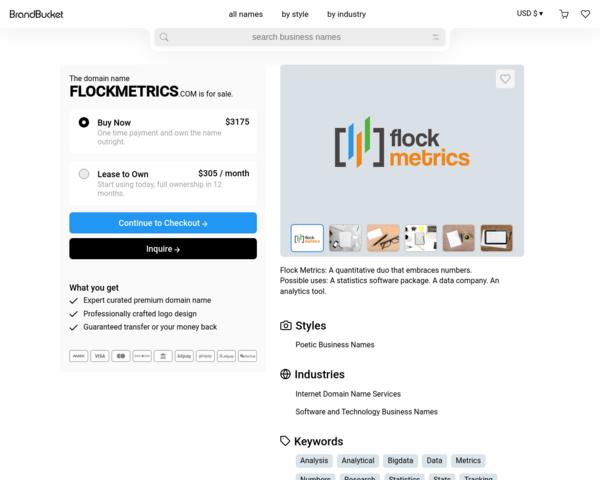 http://flockmetrics.com/