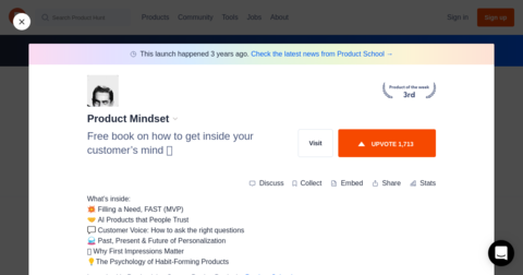 Product Mindset