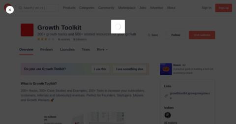 Growth Toolkit