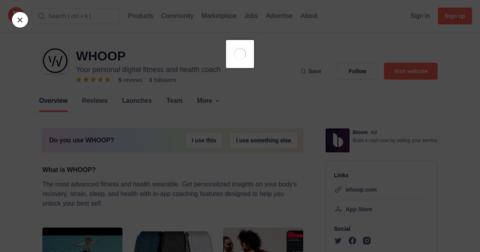 WHOOP Strap 3.0