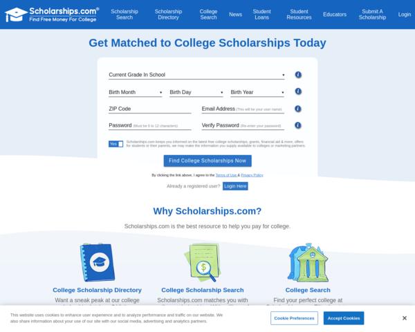 http://www.scholarships.com