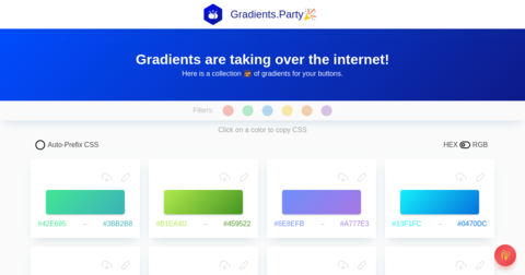 Gradients Party