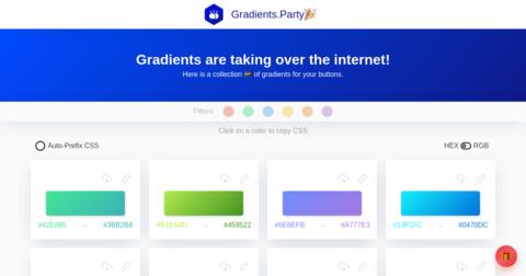 Gradients Party