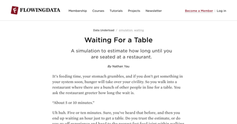 Waiting For a Table