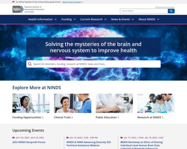 http://www.ninds.nih.gov
