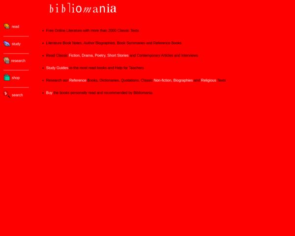 http://www.bibliomania.com