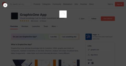 GraphicOne App