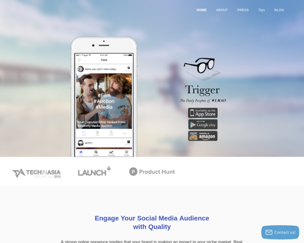 http://www.thetrigger.io/?c=launchingnext