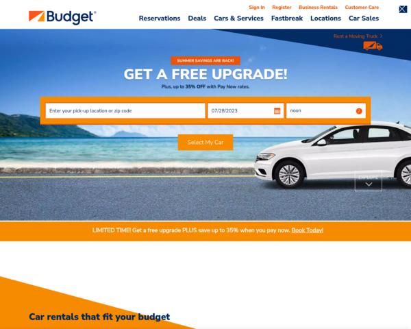 http://www.budget.com