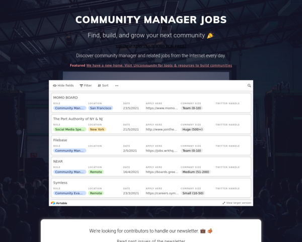 https://communitymanagerjobs.co/