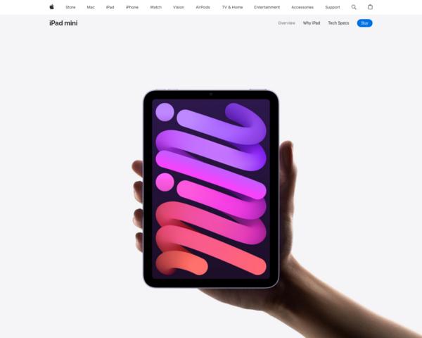 https://www.apple.com/ipad-mini/