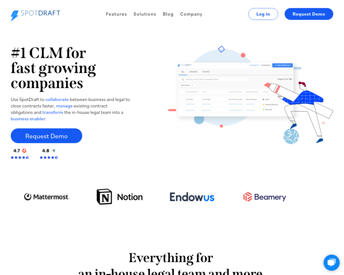 SpotDraft Contracts Invoices Reminders Payments On Autopilot - Create contract online