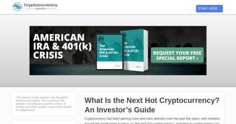 Cryptocurrency Newsfeed
