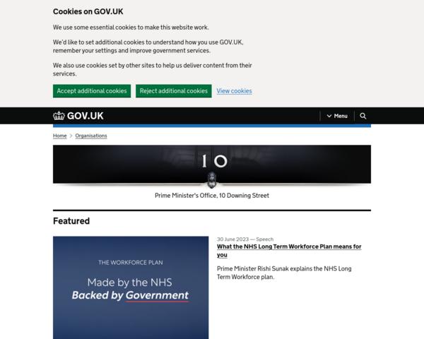 http://www.number10.gov.uk