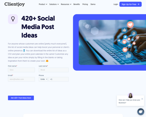 https://www.clientjoy.io/social-media-designs-and-templates