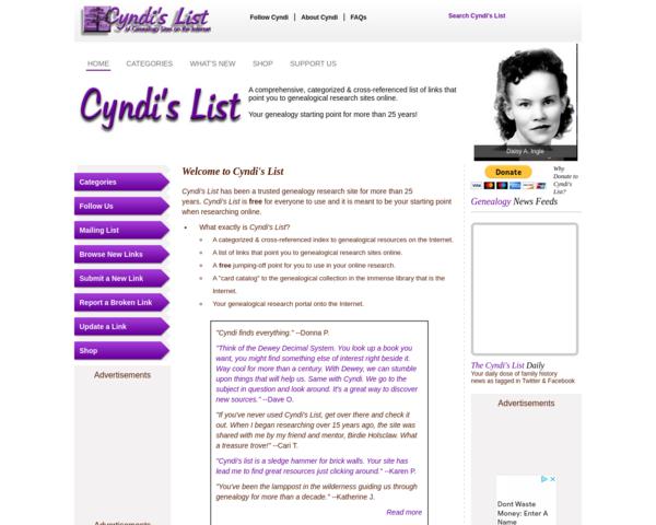 http://www.cyndislist.com
