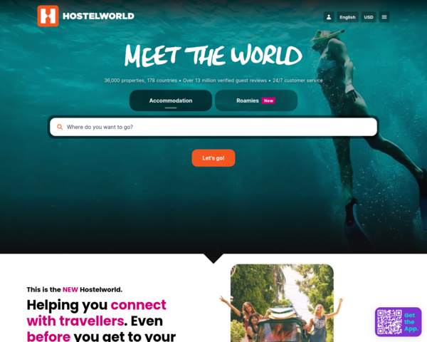 http://www.hostelworld.com
