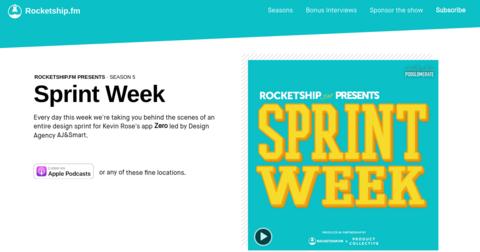 Sprint Week by Rocketship.fm