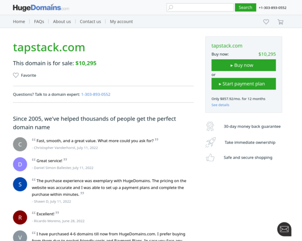 http://tapstack.com/