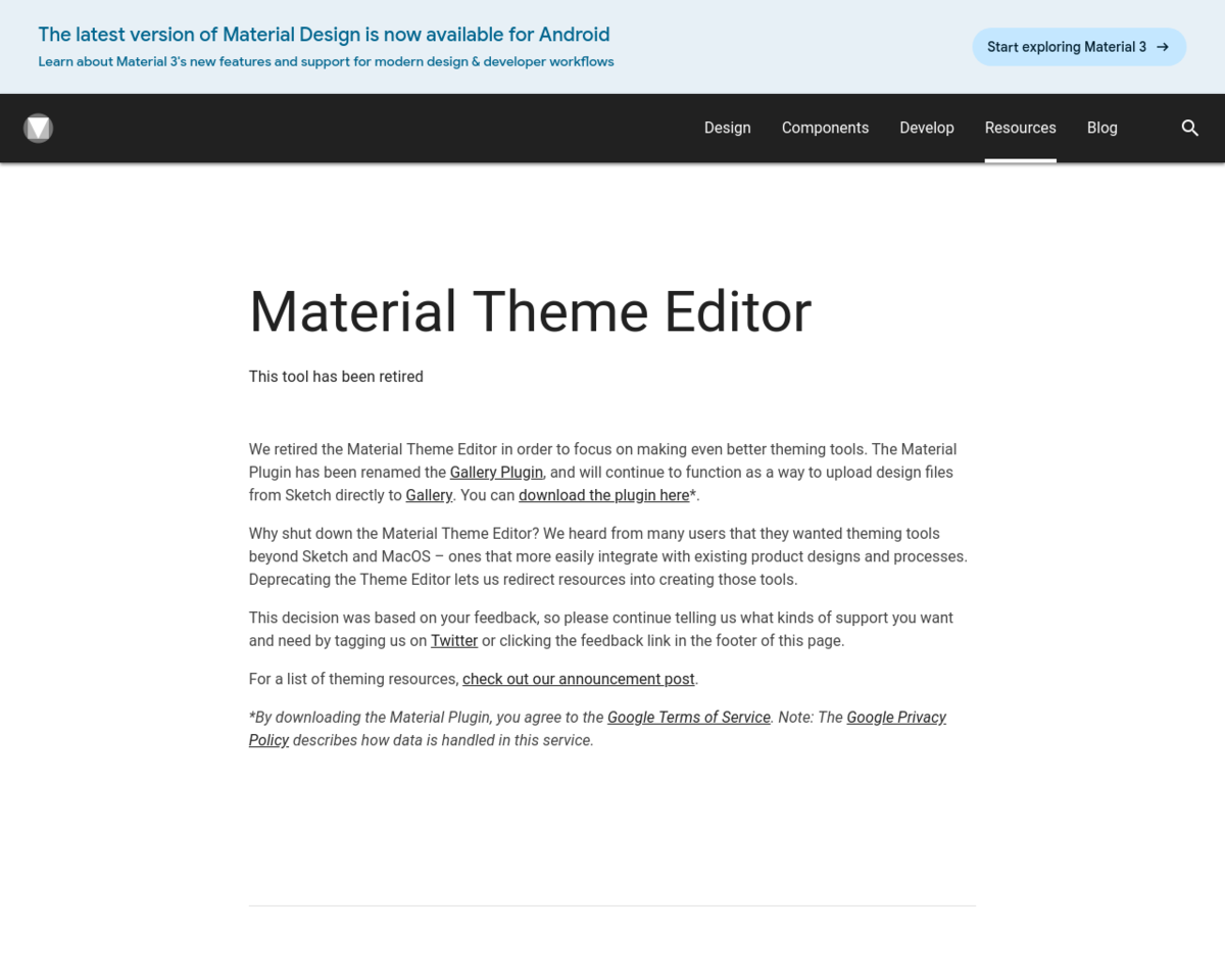 Material Theme Editor: Sketch plugin to create your Material