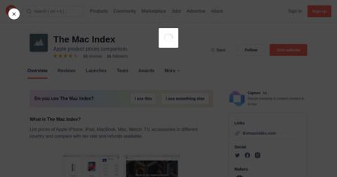 The Mac Index