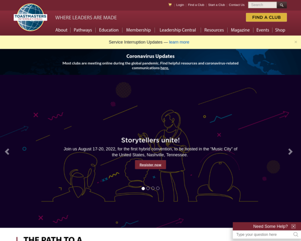 http://www.toastmasters.org