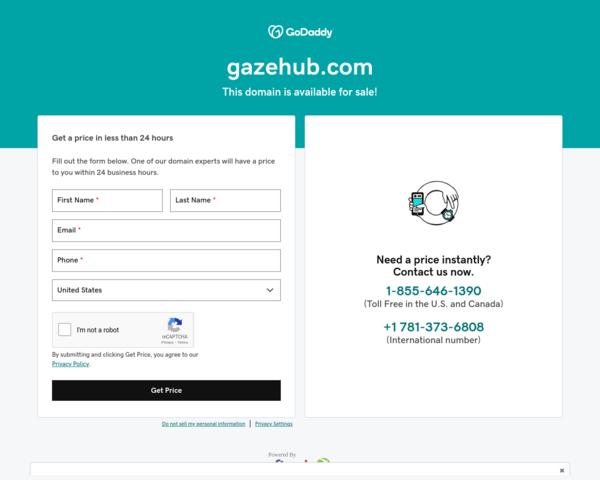 http://www.gazehub.com