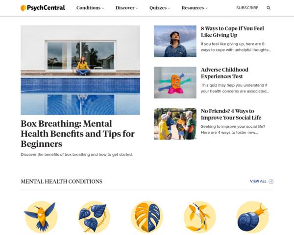 http://psychcentral.com