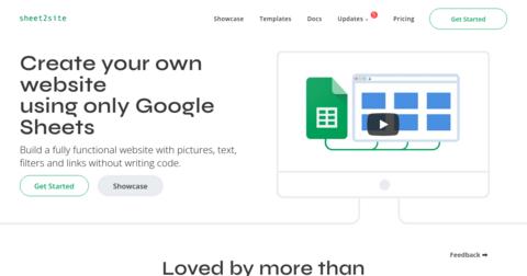 Sheet2Site 2.0