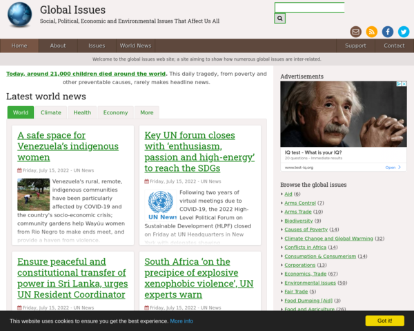 http://www.globalissues.org