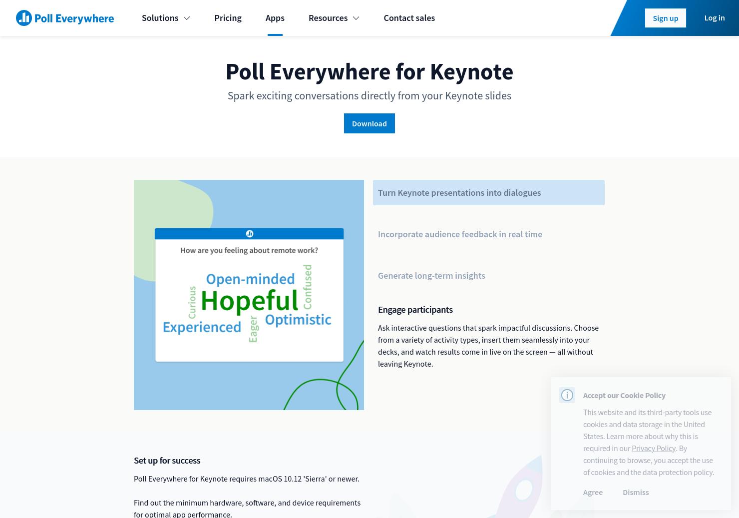 Poll Everywhere for Keynote | Poll Everywhere
