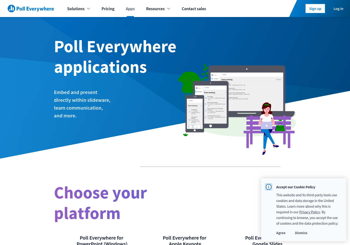 make powerpoint presentations interactive poll everywhere