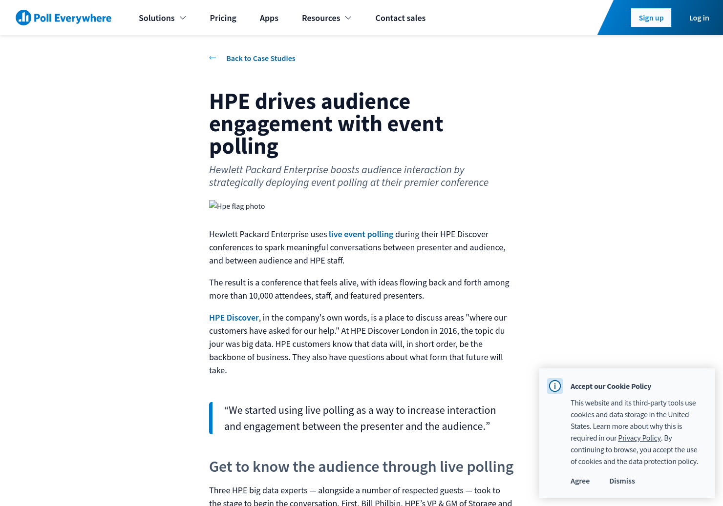 hp business strategy case study
