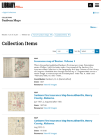 Sanborn Maps, Available Online | Library of Congress