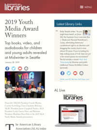 2019 Youth Media Award Winners (American Libraries Magazine)