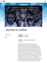 Journey to Justice | National Film Board