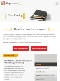 Online Writing Classes at Hugo House